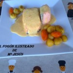 Salmón a la vinagreta con Salsa Mornay