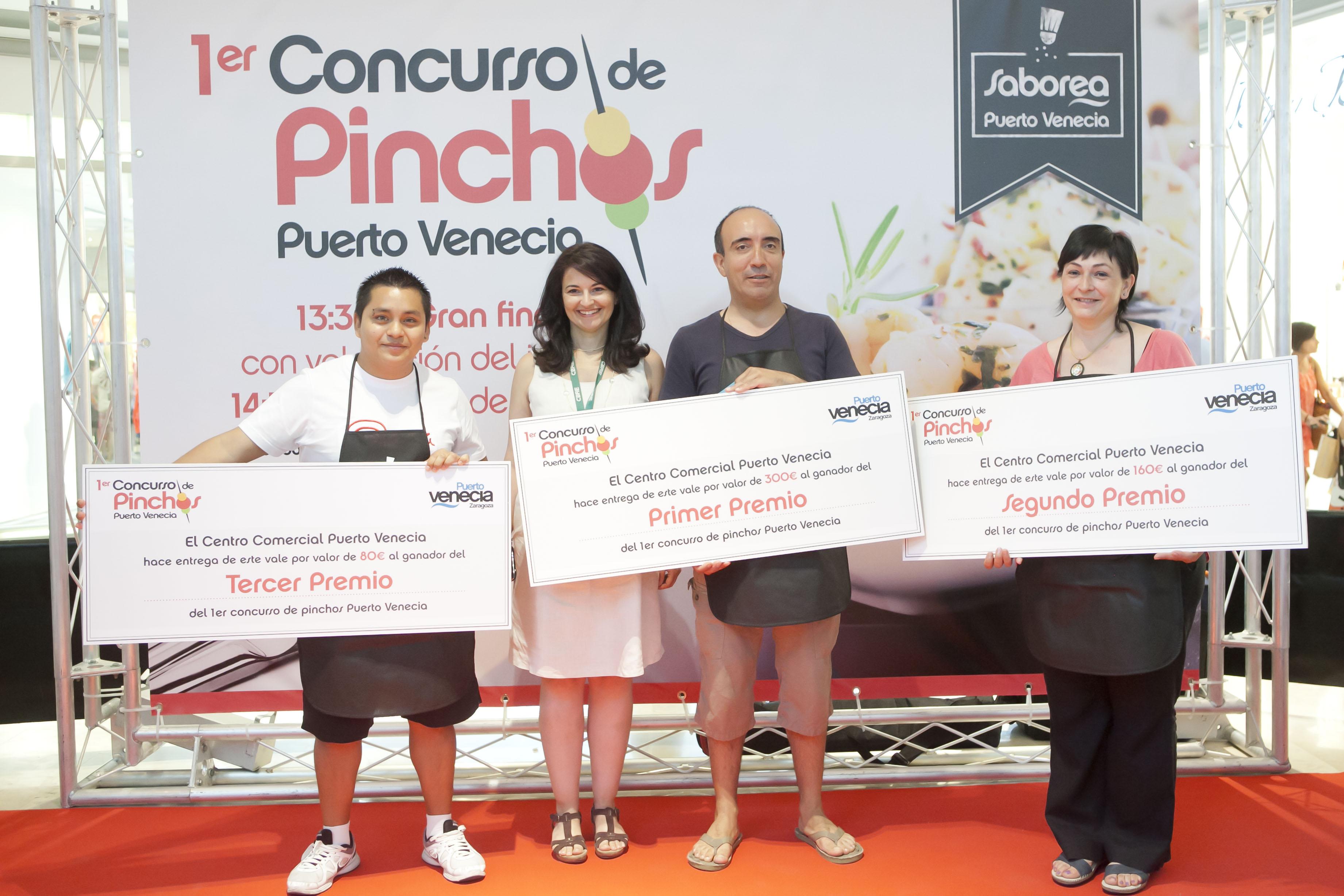 Ganadores del concurso de Tapas de Puerto Venecia
