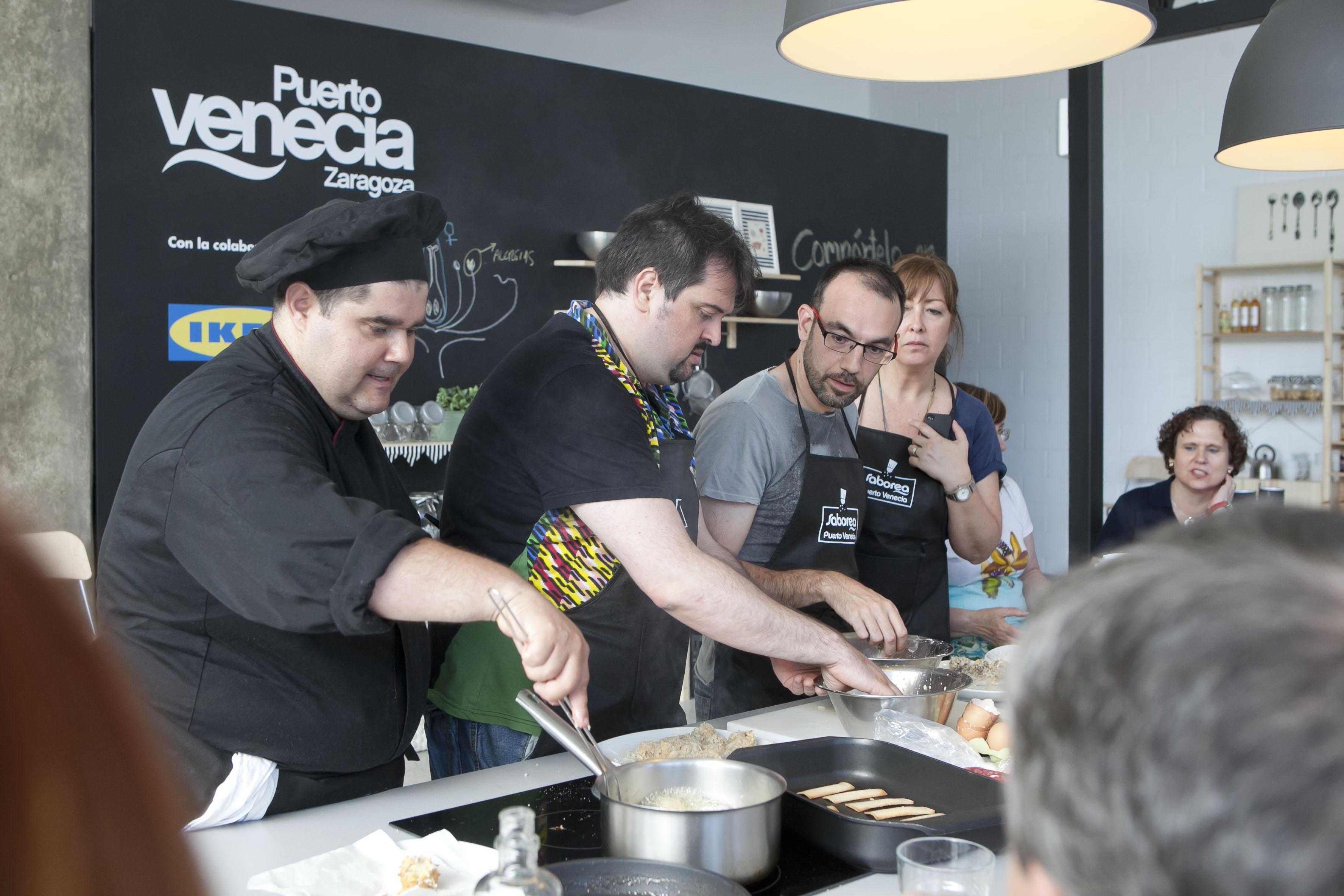 Escuela De Cocina Zaragoza | Saborea Puerto Venecia Taller De Tapas Con Hugo Lopez De La