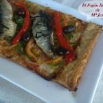 Coca de sardinas a la Provenzal