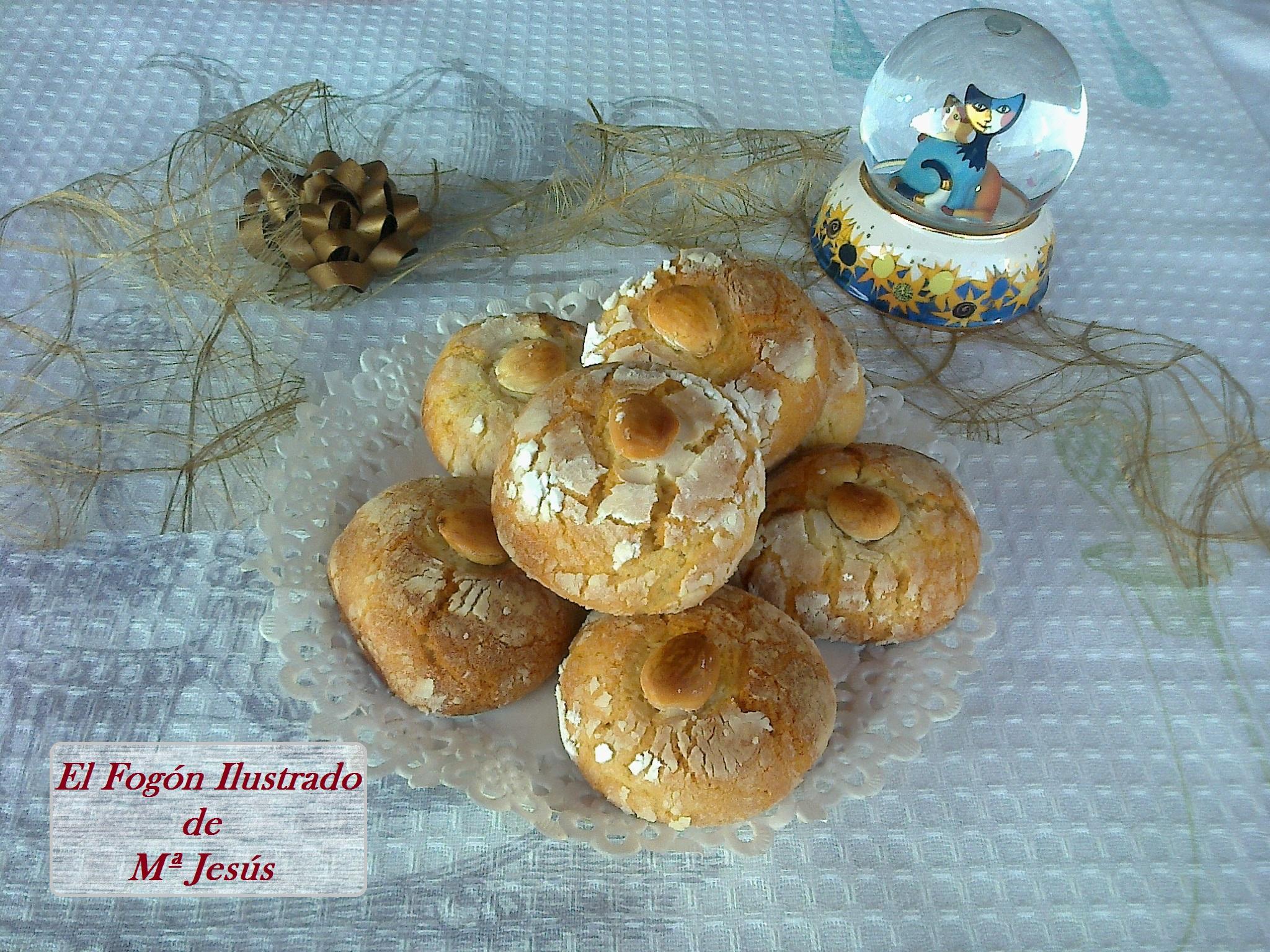 Galletas de almendra y nata