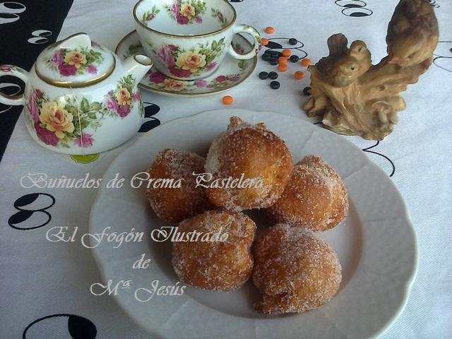 Buñuelos de Crema Pastelera 007