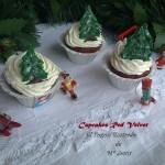Red Velvet navideño (Cupcakes)