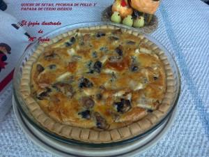 Quiche de Setas, Pechuga de Pollo y Papada de Cerdo Ibérico (4)