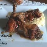 Pollo guisado en Vinagre con Cuscús