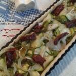 Tarta salada de Verduras y Caballa a la Provenzal 016