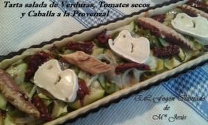 Tarta salada de Verduras y Caballa a la Provenzal 020