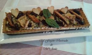 Tarta salada de Verduras y Caballa a la Provenzal 023
