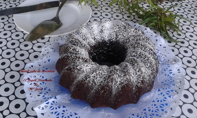 Bundt cake de chocolate 064