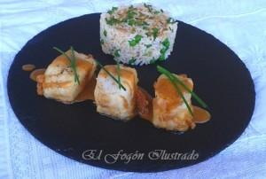 Medallones de lomos de merluza con salsa de mejillones (2)