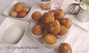 Magdalenas de aceite de oliva y leche evaporada (3)