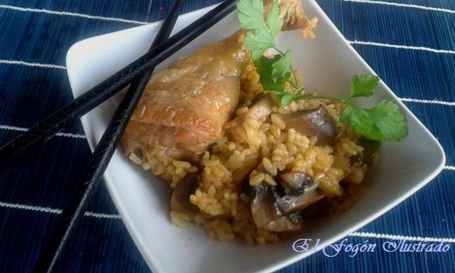 pollo-con-champinones-estilo-oriental