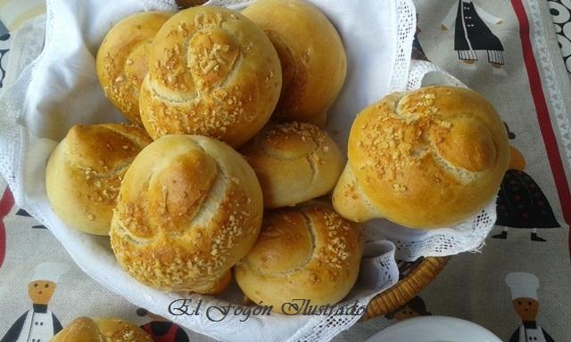 Nudos de Pan de ajo y queso Parmigiano (1)
