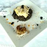 Volcán de arroz negro