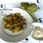 Alcachofas con salsa de anchoas